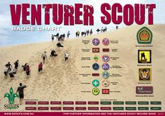 Venturer Badge Chart