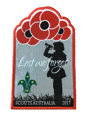 2017 Lest We Forget Swap Badge