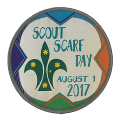 2017 Scarf Day Badge