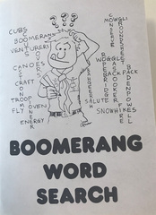 Bommerang Word Search