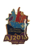 AJ2016 Metal Hat Pin - Vic Contingent (RRP $4.95)