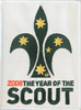 2008 Year of the Scout Blanket Badge (RRP $2)